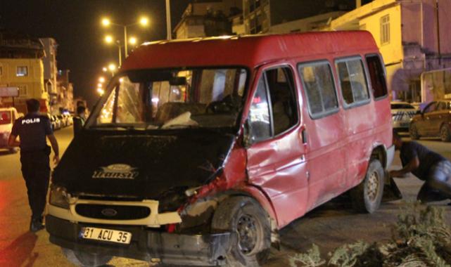Otomobilin çarpışması sonucu 7 kişi yaralandı